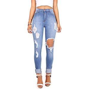 {Fashion Nova} High Rise Skinny Distressed Jeans